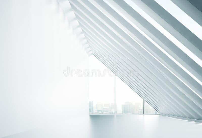 Interior da luz solar ilustração stock