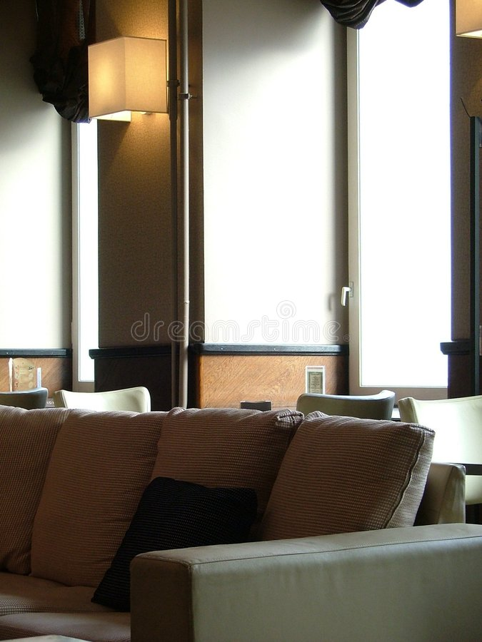 Interior da sala de estar foto de stock royalty free
