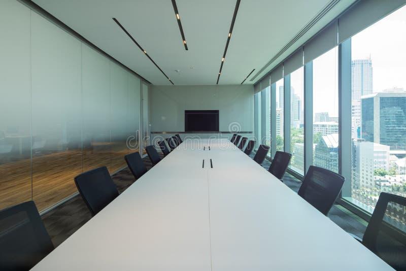 Interior da sala de reunião imagens de stock royalty free