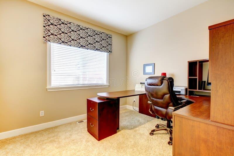 Interior da sala do escritório fotos de stock