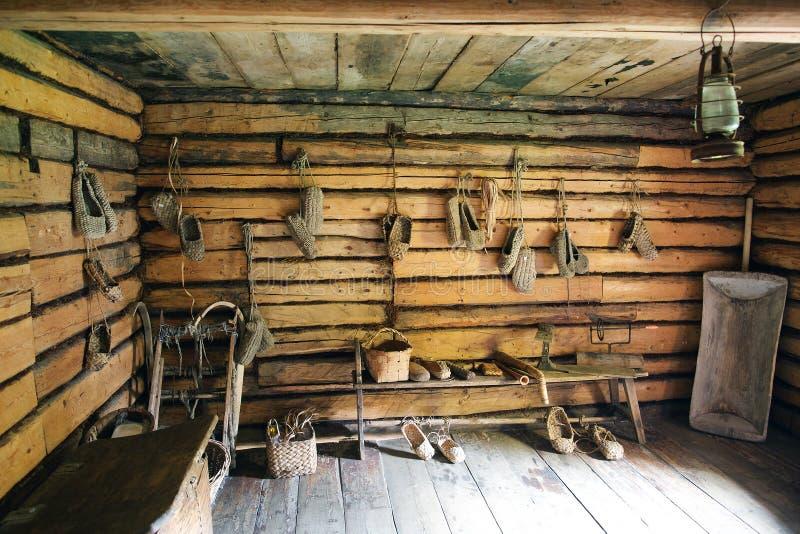Interior da sala do russo foto de stock