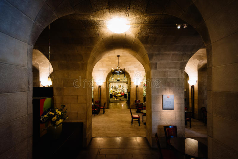 Interior de Art Museum do Walter, em Mount Vernon, Baltimore, fotos de stock royalty free