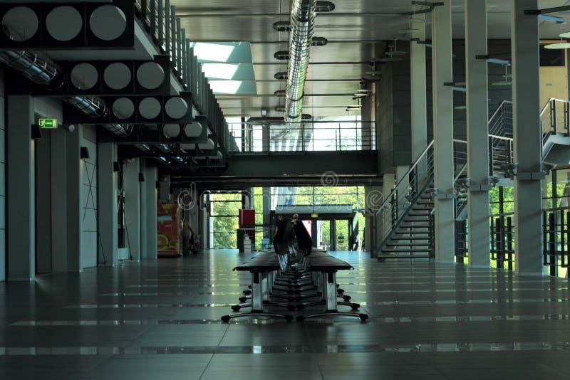 Interior de Departtment da filologia, Sosnowiec imagens de stock royalty free