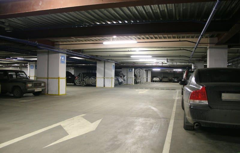 Interior de estacionamento imagem de stock royalty free