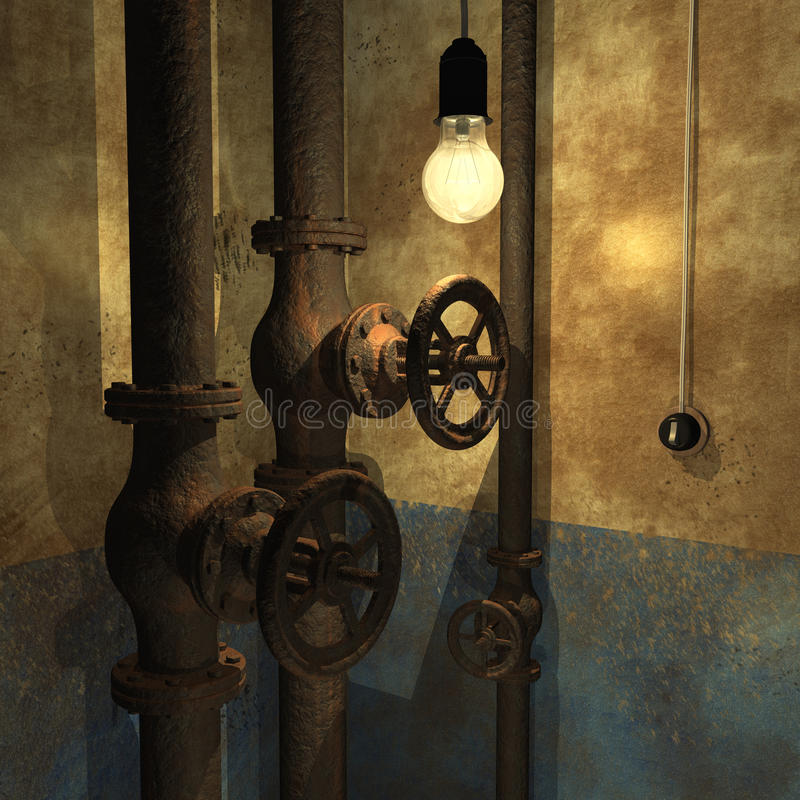 Interior de Grunge libre illustration