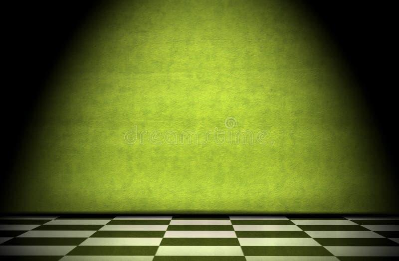 Interior de Grunge imagenes de archivo