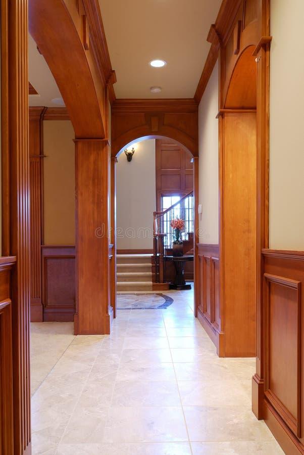 Interior de la casa fotografía de archivo libre de regalías