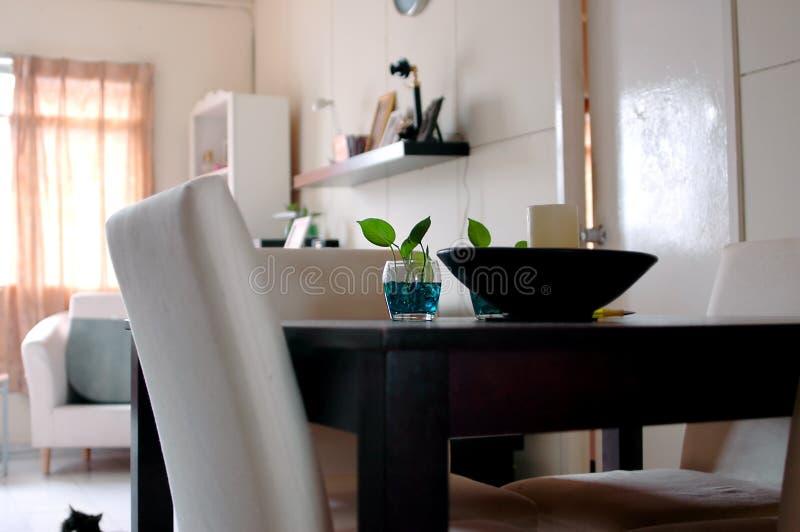 Interior de la casa imagen de archivo libre de regalías