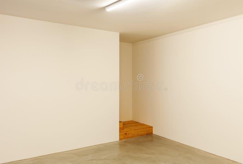 Sitio vacío, interior foto de archivo libre de regalías