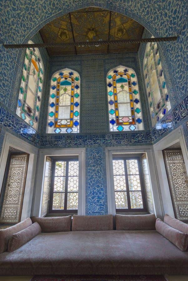 Interior de la decoración del sitio de la circuncisión fotografía de archivo