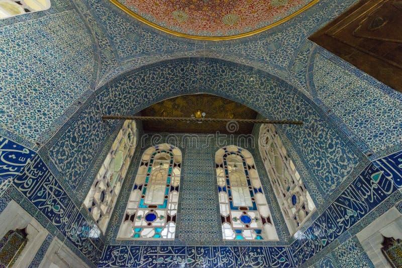 Interior de la decoración del sitio de la circuncisión foto de archivo libre de regalías