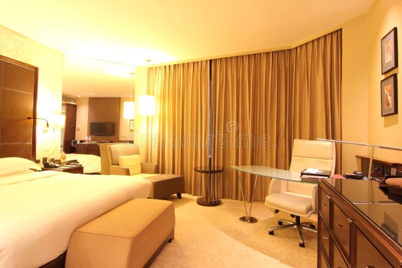 Interior de la habitación de hotel del negocio fotos de archivo libres de regalías