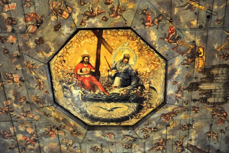 Interior de la iglesia de la paz - Swidnica fotos de archivo libres de regalías