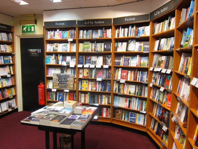 Interior de la librería. foto de archivo libre de regalías