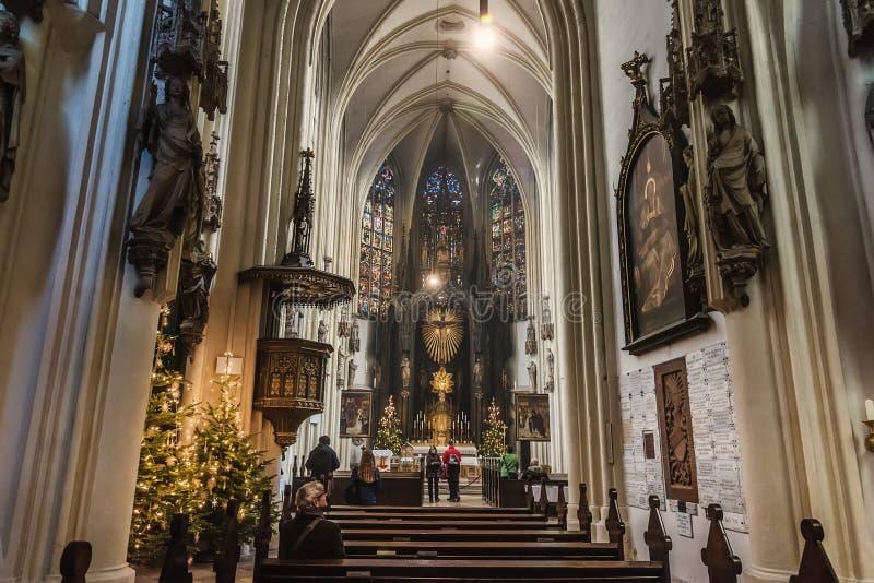 Interior de la Navidad del interior de la Navidad de la Navidad o interior fotografía de archivo