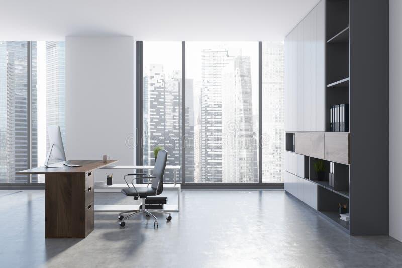 Interior de la oficina del CEO fotos de archivo