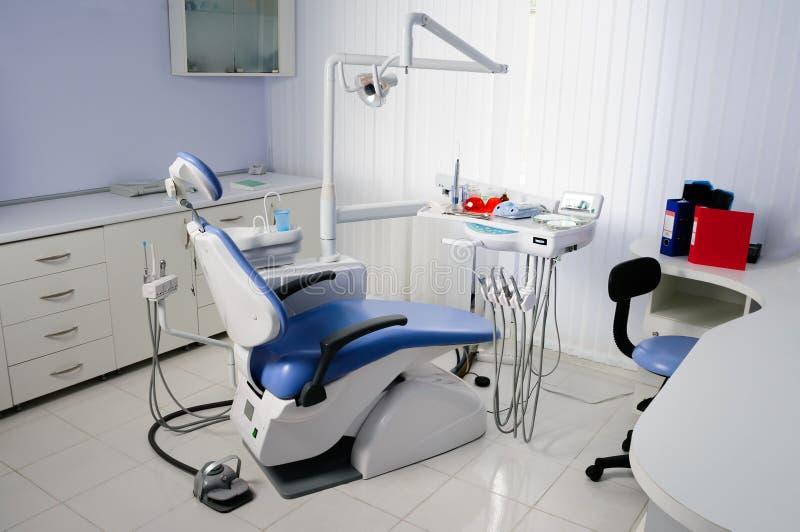 Interior de la oficina del dentista imagen de archivo libre de regalías