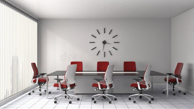 Interior de la oficina ilustración 3D libre illustration