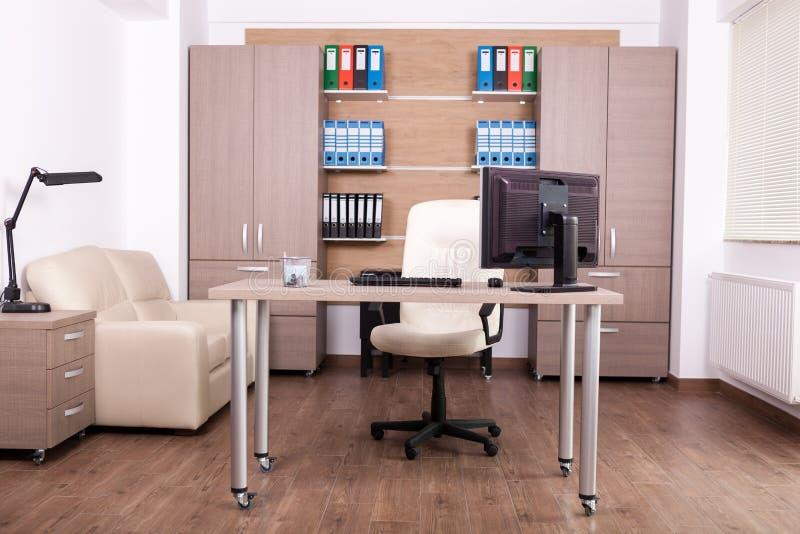 Interior de la oficina de negocios foto de archivo libre de regalías