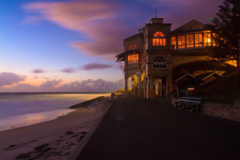 Interior de la playa House foto de archivo libre de regalías