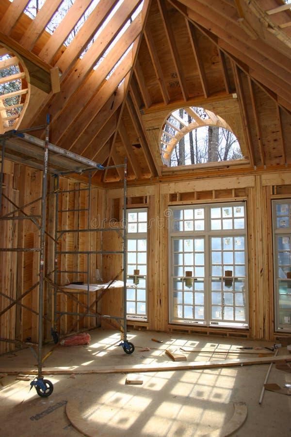 Interior de la renovación fotos de archivo