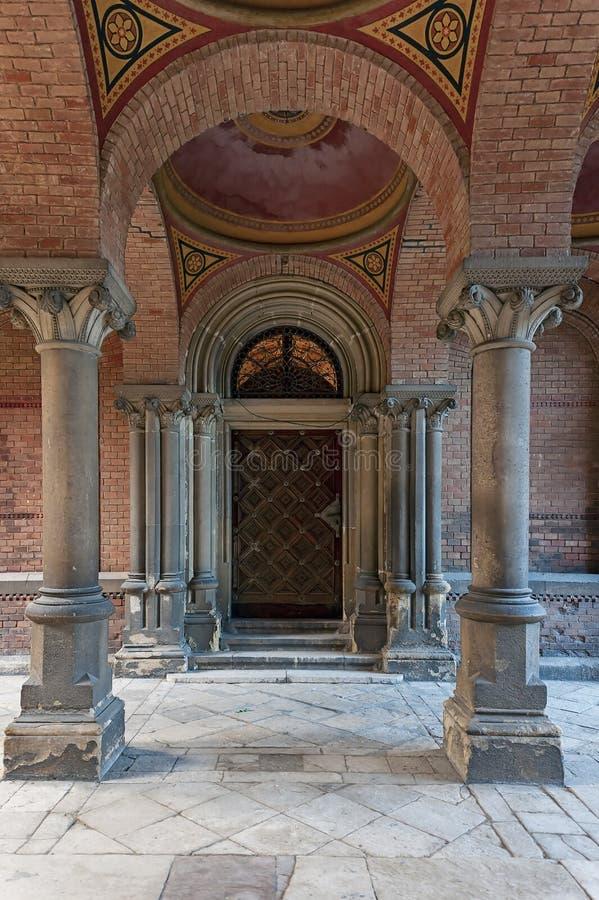 Interior de la universidad nacional en Chernivtsi, Ucrania fotografía de archivo libre de regalías
