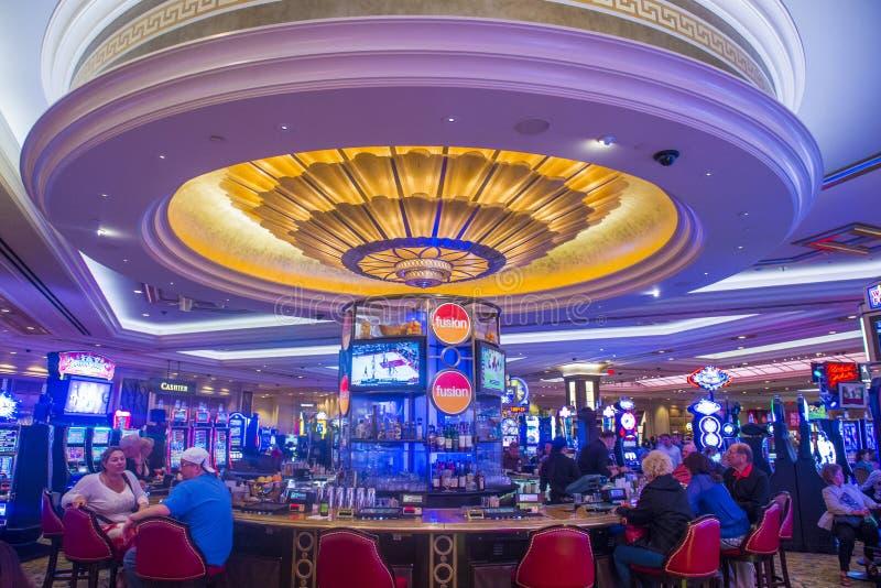 Interior de Las Vegas - de Palazzo fotografía de archivo libre de regalías