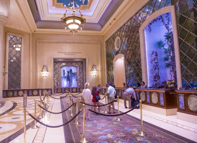 Interior de Las Vegas - de Palazzo fotos de stock