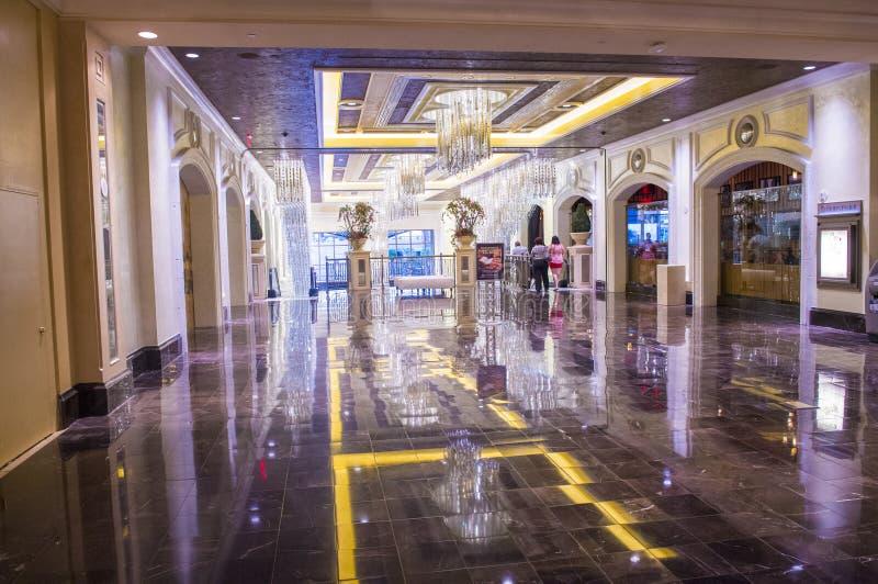 Interior de Las Vegas - de Palazzo imagen de archivo