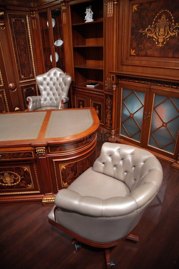 Interior de lujo de la oficina fotografía de archivo libre de regalías