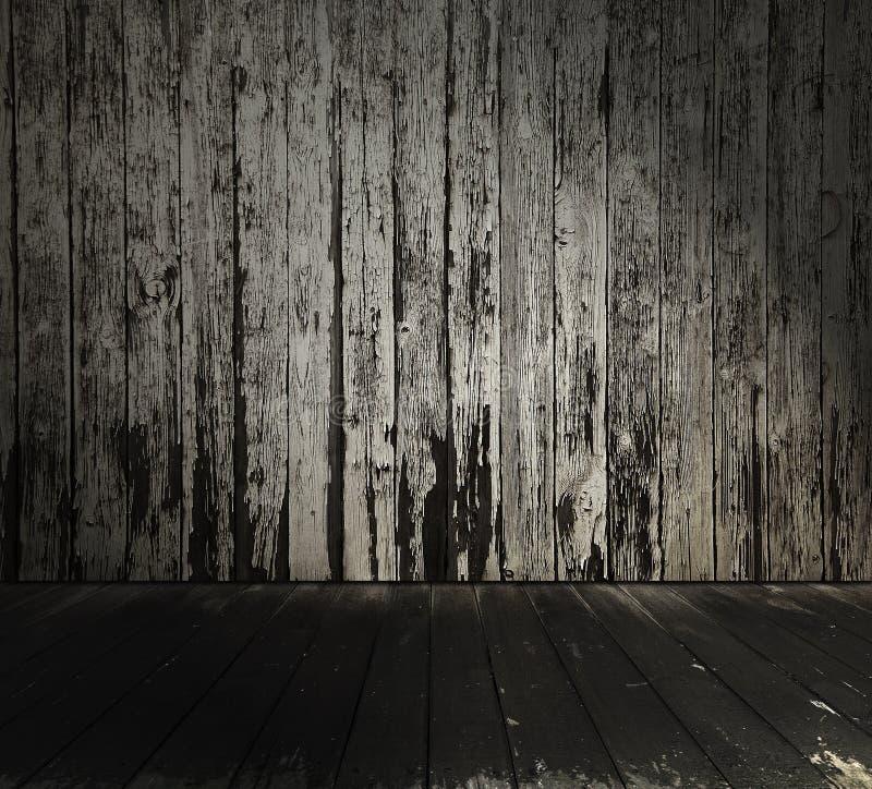 Interior de madera imagenes de archivo