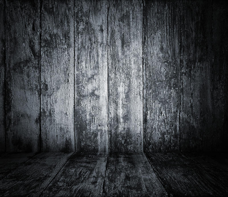 Interior de madera imagen de archivo
