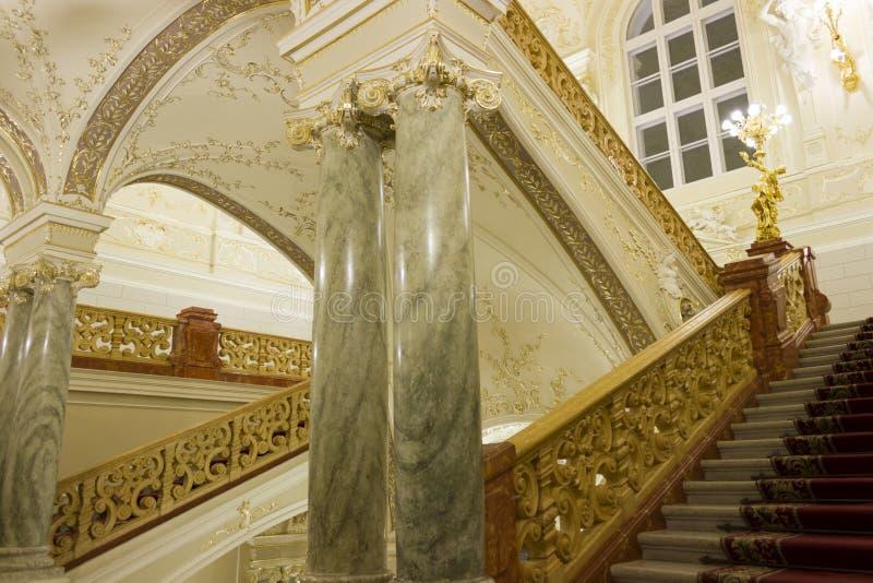 Interior de Opera imagens de stock