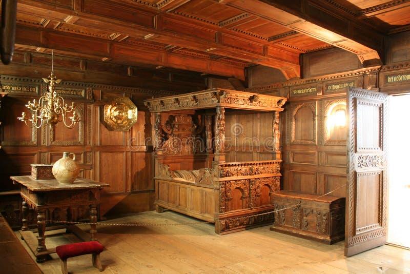 Interior de Rosenborg Palas imagen de archivo libre de regalías