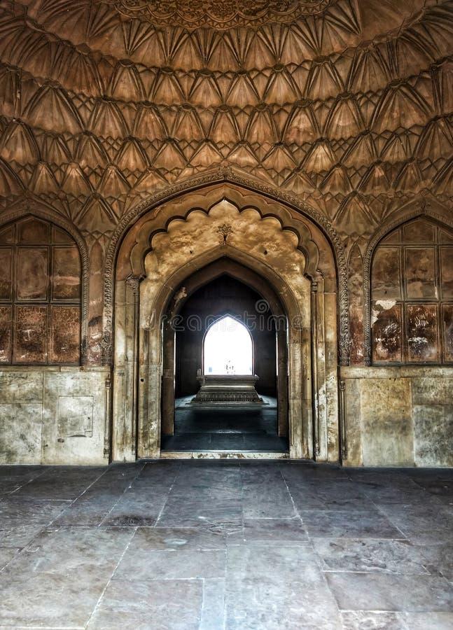 Interior de Safdarjung& x27; sTomb foto de stock royalty free