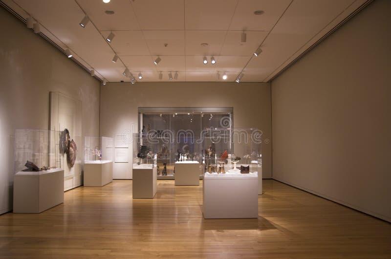Interior de Seattle Art Museum imagens de stock