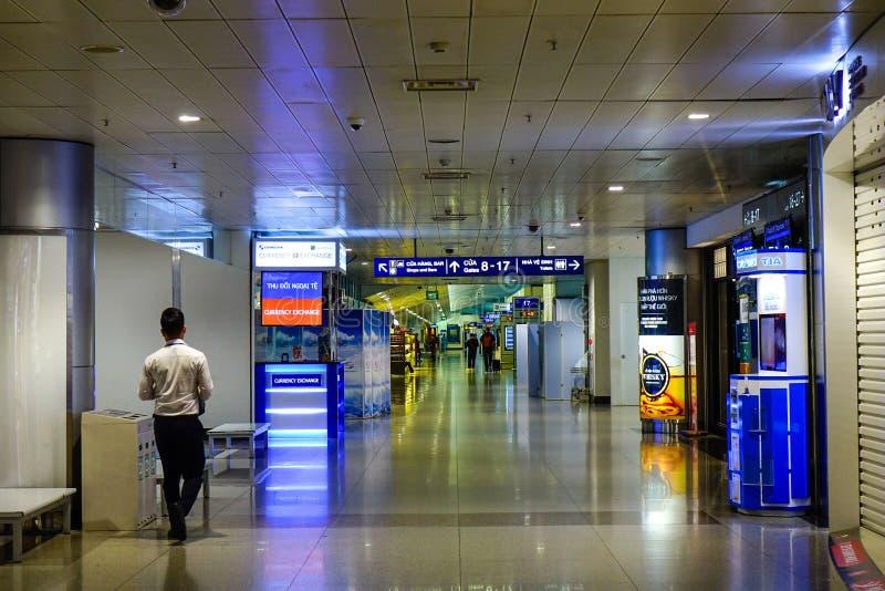 Interior de Tan Son Nhat Airport fotos de stock