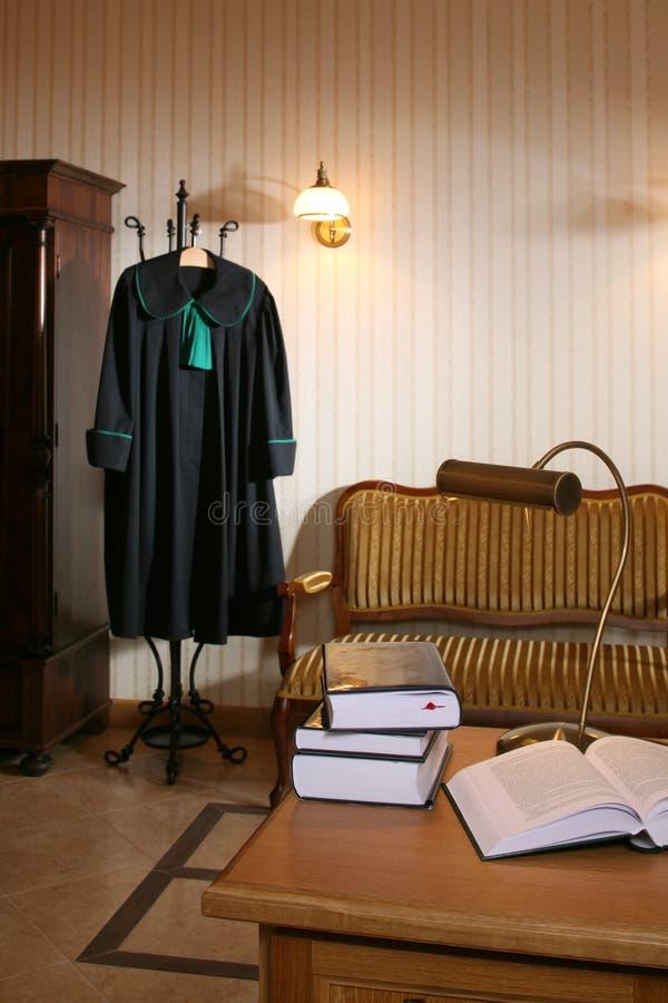 Interior de um escritório de lei imagens de stock royalty free