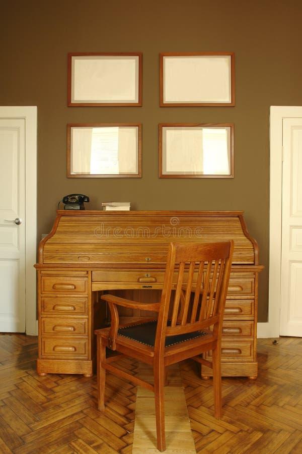 interior de um quarto do escritório Home fotos de stock