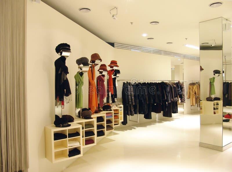 Interior de uma loja fotos de stock