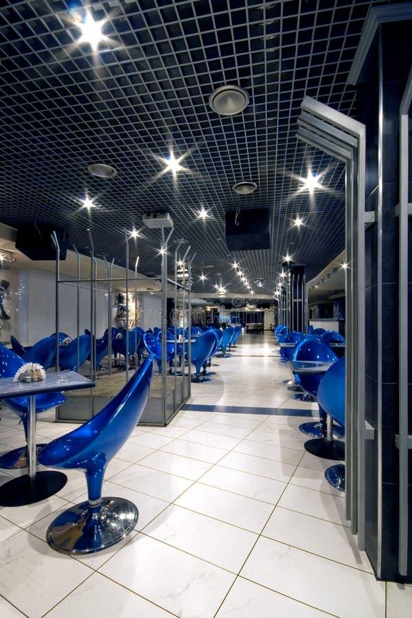 Interior de un club de noche imagen de archivo