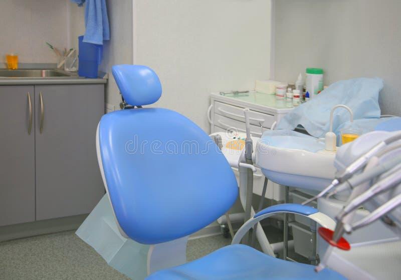 Interior de una cabina stomatologic fotografía de archivo