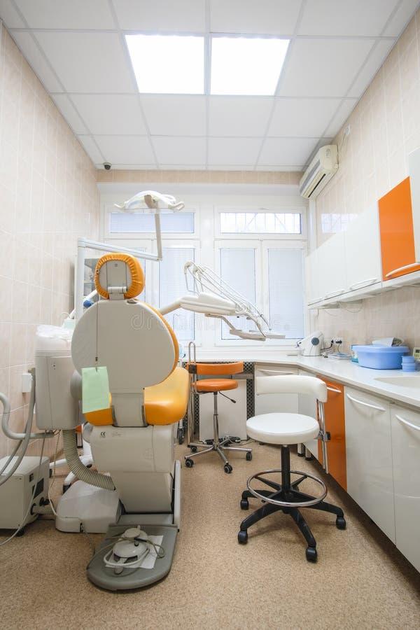 Interior de una clínica stomatologic foto de archivo libre de regalías