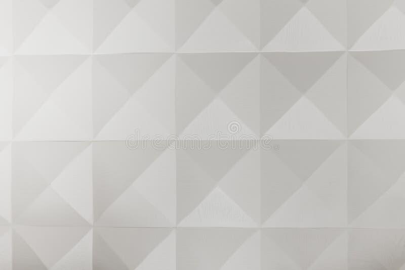 Interior deaisn wall with geometric shapes stock photos