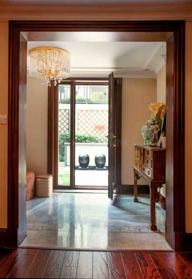 Interior decoration stock photo