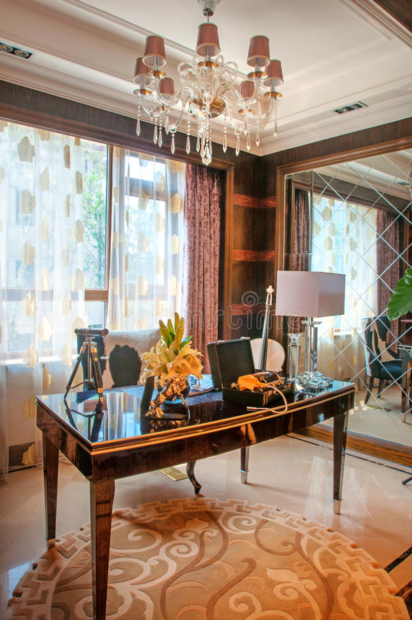 Interior decoration stock photography