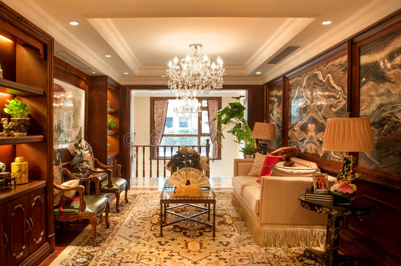 Interior decoration royalty free stock photos