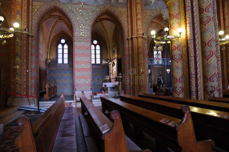 Interior del ¡s Templom del tyà del ¡de Mà foto de archivo