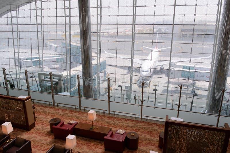 Interior del aeropuerto fotos de archivo