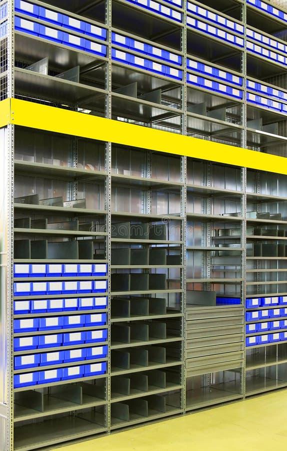 Interior del almacén fotografía de archivo